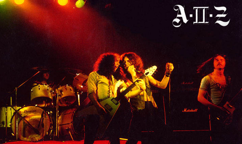 AIIZ, A11Z New Wave Of British Heavy Metal NWOBHM Heavy Rock Hard Rock n.w.o.b.h.m aiiz a11z